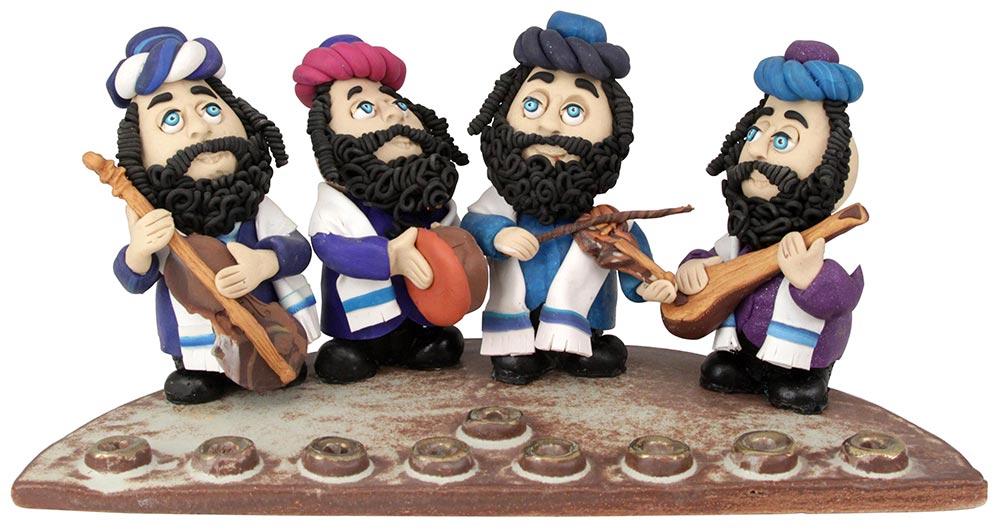 Musical Rabbis Hanukkah Menorah