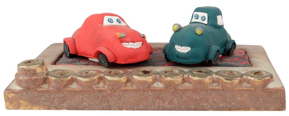 Cars Hanukkah Menorah