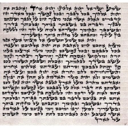 Mezuzah Scroll / Parchment