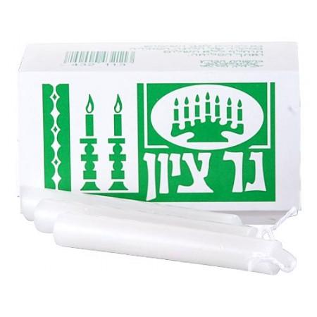 Kosher Shabbat Candles - 8 Pack