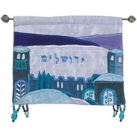 Jerusalem Blue Wall Hanging