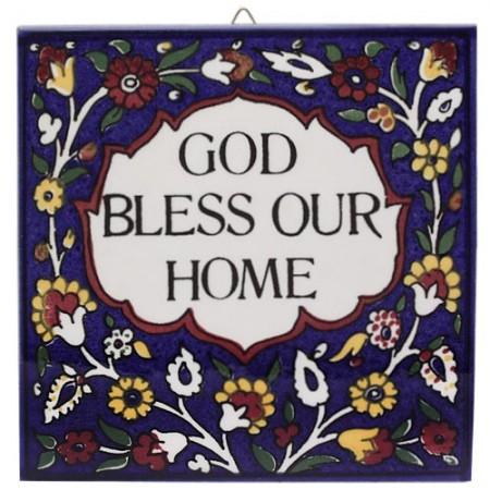 Armenian Ceramic Bless Our Home