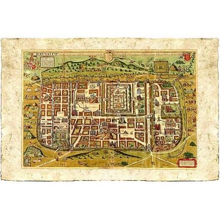Map of Jerusalem - Christian van Adrichom