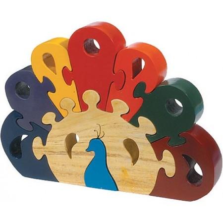 Peacock Wooden Puzzle
