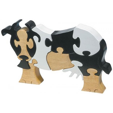 Cow Wooden Puzzle