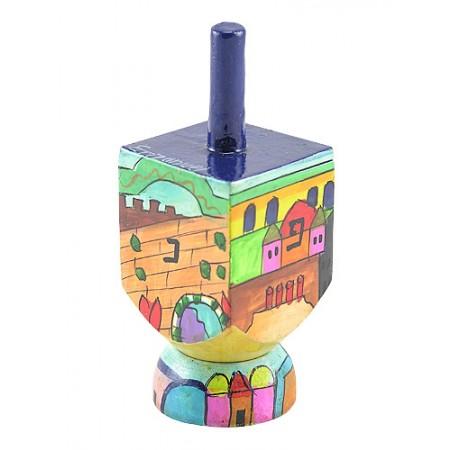 Jerusalem Design Dreidel