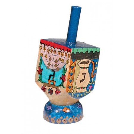 Hanukkah Design Dreidel