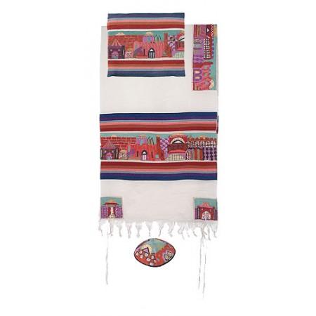 Imanuel Jerusalem In Color Tallit