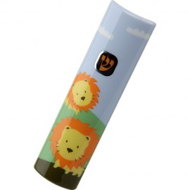 Lovable Lions Kiddie Mezuzah Case