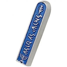 Shraga Landesman Peace for Israel Mezuzah