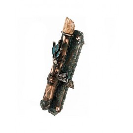 Rami Zamir Copper Mezuzah Antique Finish