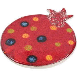 Colorful Ceramic Pomegranate-shaped Trivet