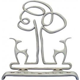 Gazelles Menorah by Shraga Landesman