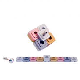 Bat Mitzvah Traveling Dreidel and Menorah in One by Agayof