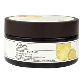 AHAVA Botanic Rich Body Butter – Tropical Pineapple & White Peach