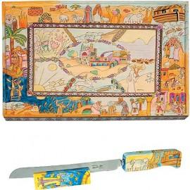 Bible Story Challah Board