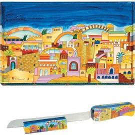 Jerusalem Challah Board