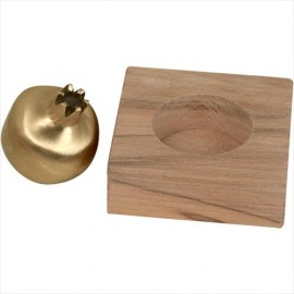 Unique Pomegranate Paperweight by Shraga Landesman