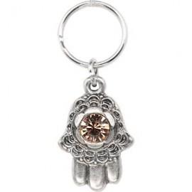 Jewel Hamsa Key Chain