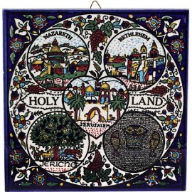 Armenian Ceramic Holy Land Wall Tile
