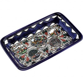 Armenian Ceramic Holy Land Tray