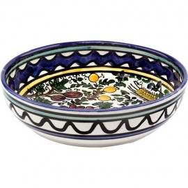 Armenian Ceramic Seven Species Bowl