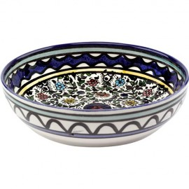 Armenian Ceramic Floral Design Bowl