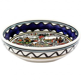 Armenian Ceramic Holy Land Bowl