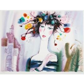 Lost In Love  31.5x24 / 80x60 cm  Serigraph  1995