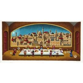Seder  24.25x13 / 62x33cm  Serigraph 2005