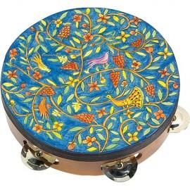 Oriental Design Tambourine by Yair Emanuel