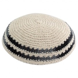 Off-White Knitted Kippah