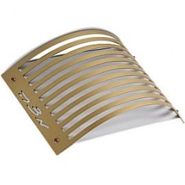 Golden Aluminum Matzah Holder by Adi Sidler