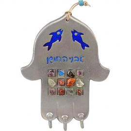 Pewter Key Hanger Hamsa