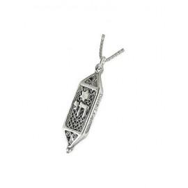 Silver Magen 'Chai' Pendant