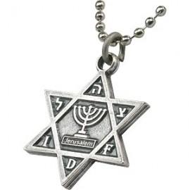 Menorah IDF Pendant