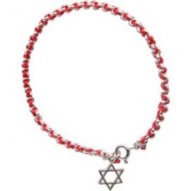 Red String Kabbalah Bracelet with Magen David