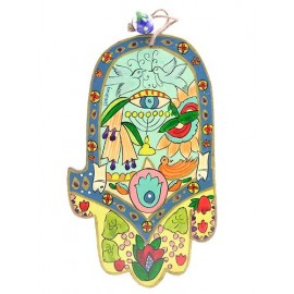 Doves And Evil Eye Charms Hamsa