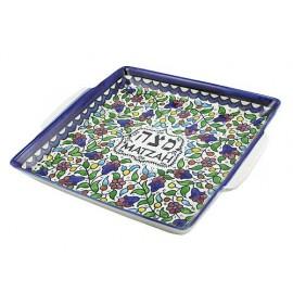 Armenian Ceramic Matzah Plate