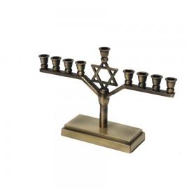 Copper Hanukkah Menorha.