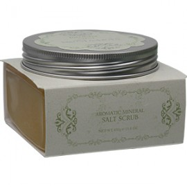 INTENSIVE SPA NOSTALGIA Aromatic Mineral Salt Scrub - Eden/Yellow