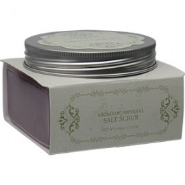 INTENSIVE SPA NOSTALGIA Aromatic Mineral Salt Scrub - Romance/Purple