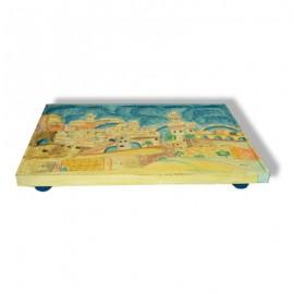 Wooden Shabbat Platter