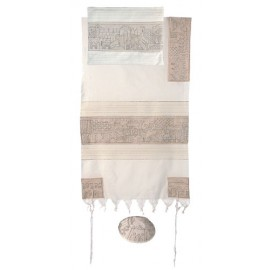 Imanuel Jerusalem In Silver Tallit