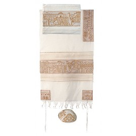 Imanuel Jerusalem In Gold Tallit