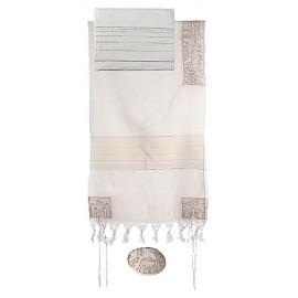 Imanuel Jerusalems In Silver Tallit