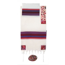 Imanuel The Matriarchs In Color Tallit
