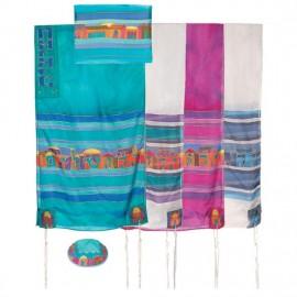 Yair Imanuel Jerusalem Silk Tallit