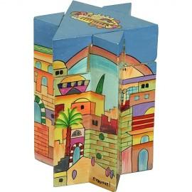 Magen David Tzedakah Box