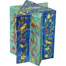 Magen David Oriental Tzedakah Box